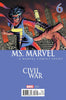 MS MARVEL #6 CIVIL WAR VARIANT