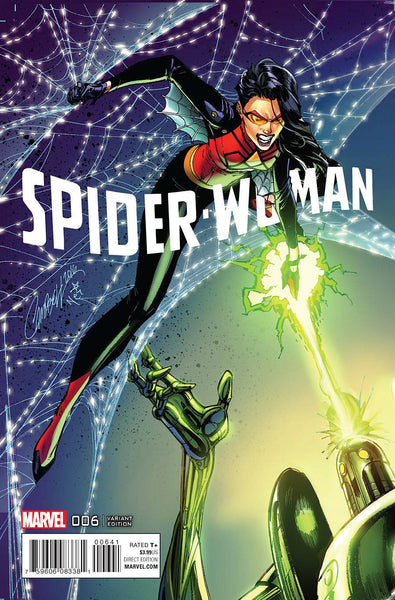 SPIDER-WOMAN #6 J SCOTT CAMPBELL CONNECTING D VARIANT