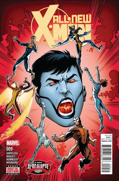 ALL NEW X-MEN VOL 2 #9 1st PRINT COVER