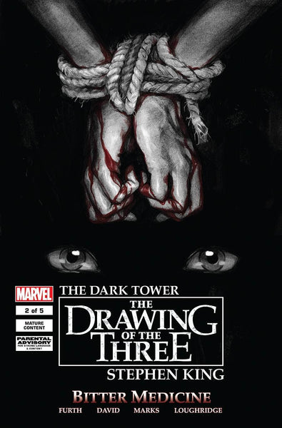 DARK TOWER DRAWING OF THREE BITTER MEDICINE #2