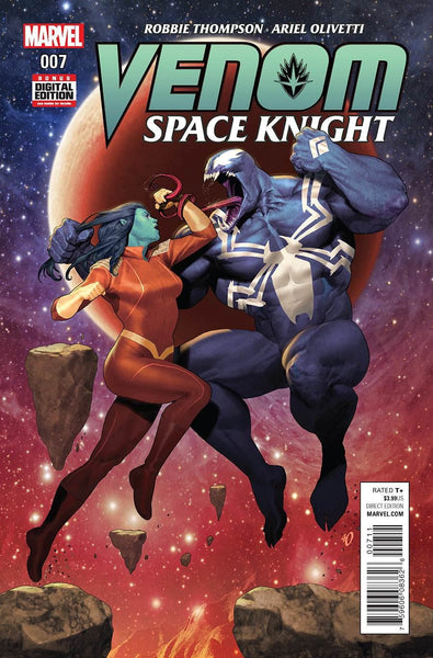 VENOM SPACE KNIGHT #7 1st PRINT COVER