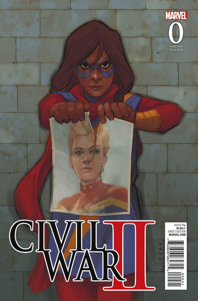 CIVIL WAR II #0 (OF 7) NOTO KAMALA VAR RCW2