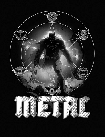DARK NIGHTS METAL #1 (OF 6) MIDNIGHT RELEASE VAR B