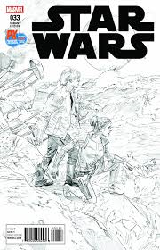 SDCC 2017 STAR WARS #33 B&W VARIANT