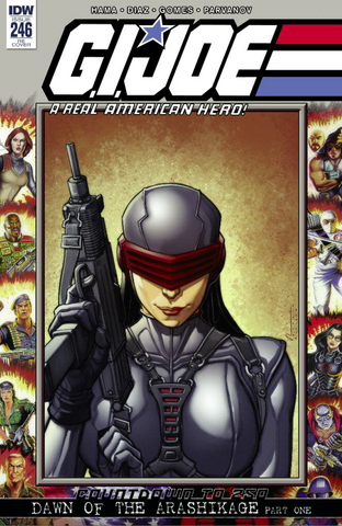 GI JOE A REAL AMERICAN HERO #246 KRS CHAD HARDIN EXCLUSIVE