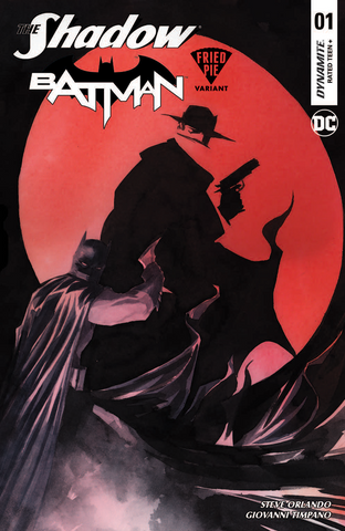 SHADOW BATMAN #1 FRIED PIE EXCLUSIVE Dustin Nguyen