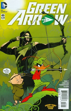 GREEN ARROW #46 LOONEY TUNES VAR ED