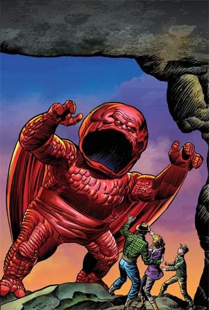 ALL NEW ALL DIFFERENT AVENGERS #1 KIRBY MONSTER VA