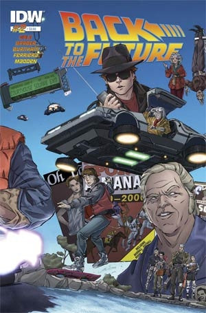 BACK TO THE FUTURE #2 (OF 4)