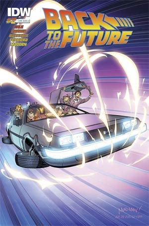 BACK TO THE FUTURE #2 (OF 4) SUBSCRIPTION VAR