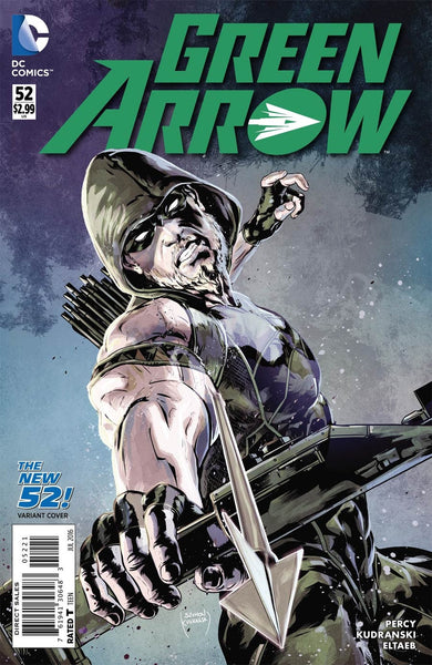 GREEN ARROW VOL 6 #52 SZYMON KUDRANSKI NEW 52 HOMAGE VARIANT