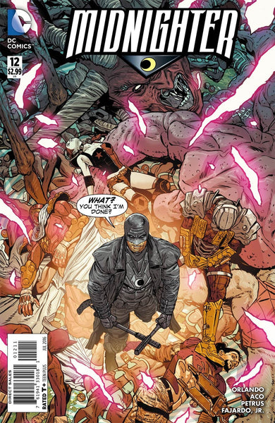 MIDNIGHTER VOL 2 #12 1st PRINT COVER