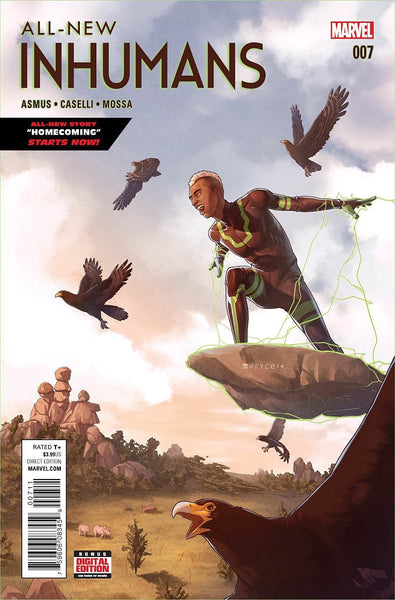 ALL NEW INHUMANS #7 1st PRINT COVER