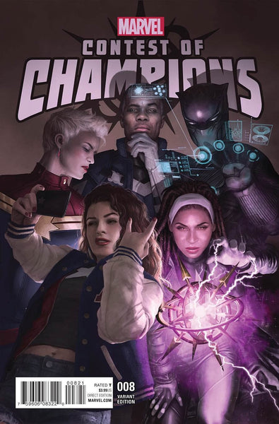 CONTEST OF CHAMPIONS VOL 3 #8 VARIANT COVER