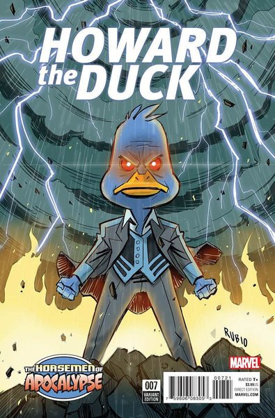 HOWARD THE DUCK VOL 5 #7 AGE OF APOCALYPSE RUBIO VARIANT