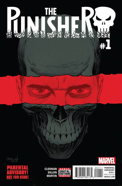 PUNISHER #1 1st PRINT DECLAN SHALVEY COVER