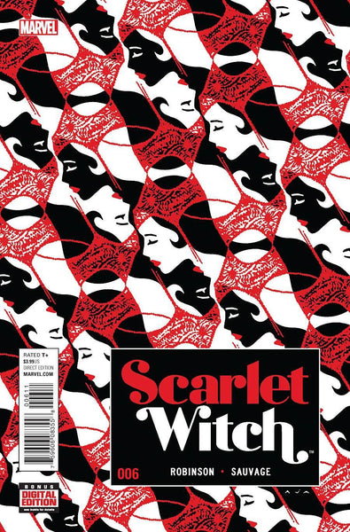 SCARLET WITCH VOL 2 #6 1st PRINT COVER