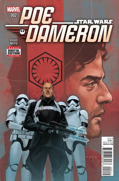 STAR WARS POE DAMERON #2 1st PRINT COVER