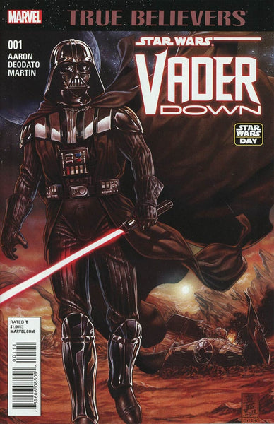 TRUE BELIEVERS VADER DOWN #1