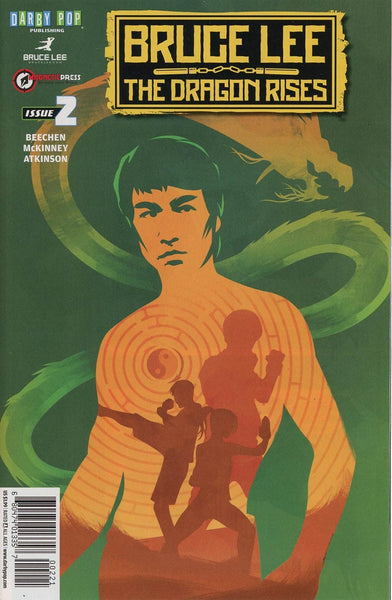 BRUCE LEE DRAGON RISES #2 COVER B JEFF LANGEVIN