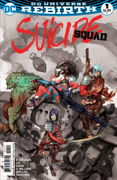 SUICIDE SQUAD VOL 4 #1 FRIED PIE GREG TOCCHINI SKETCH BW VARIANT