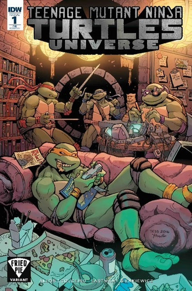 TEENAGE MUTANT NINJA TURTLES UNIVERSE #1 FRIED PIE VARIANT