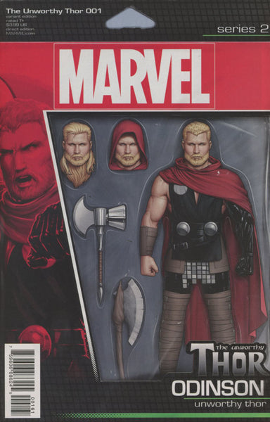UNWORTHY THOR #1 COVER VARIANT D ACTION FIGURE