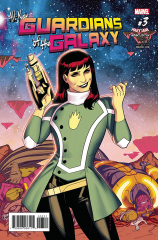 ALL NEW GUARDIANS OF GALAXY #3 TBA MARY JANE VAR