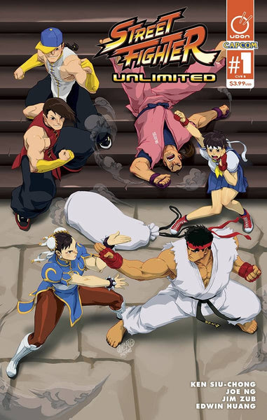 STREET FIGHTER UNLIMITED #1 CVR B CRUZ ULTRA JAM