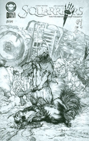 Squarriors #1 Cover E Sketch Edition