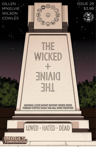 WICKED & DIVINE #29 CVR C IMAGES OF TOMORROW VARIANT
