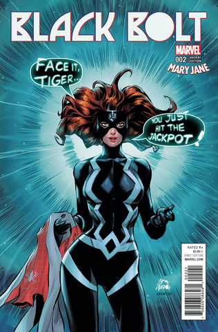 BLACK BOLT #2 STEGMAN MARY JANE VAR
