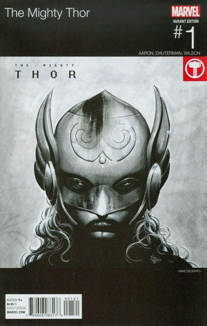 MIGHTY THOR #1 DEODATO HIP HOP VAR