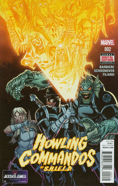HOWLING COMMANDOS OF SHIELD #2