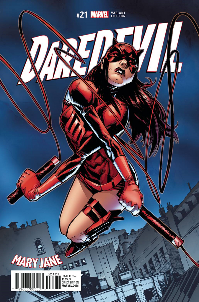 Daredevil 21 Ramos Mary Jane Var Comicxposure