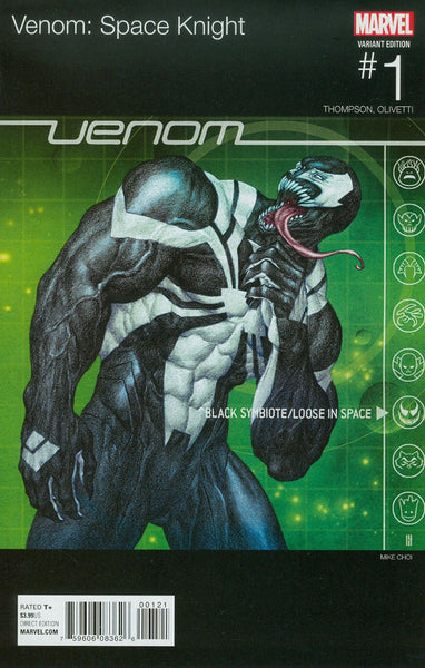 VENOM SPACE KNIGHT #1 CHOI HIP HOP VAR