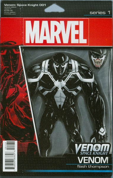 VENOM SPACE KNIGHT #1 CHRISTOPHER ACTION FIGURE VAR