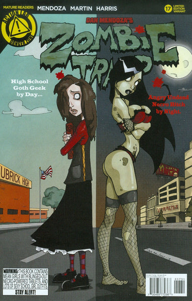ZOMBIE TRAMP ONGOING #17 MENDOZA VAR