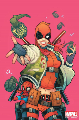 DEADPOOL #32 TORQUE MARY JANE VAR SE