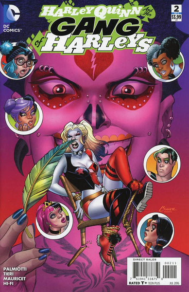 HARLEY QUINN AND HER GANG OF HARLEYS #2 (OF 6)