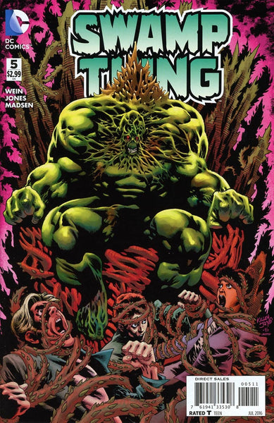 SWAMP THING VOL 6 #5 1st PRINT COVER