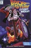BACK TO THE FUTURE CITIZEN BROWN #1 (of 5) 1st PRINT COVER