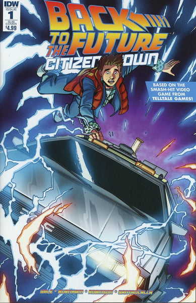 BACK TO THE FUTURE CITIZEN BROWN #1 (of 5) SUBSCRIPTION VARIANT