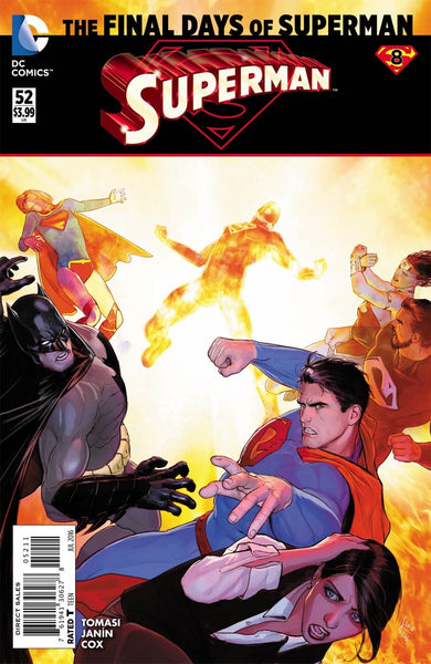 SUPERMAN VOL 4 #52 1st PRINT COVER