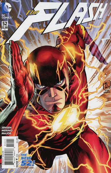 FLASH VOL 4 #52 JESUS MERINO NEW 52 HOMAGE VARIANT