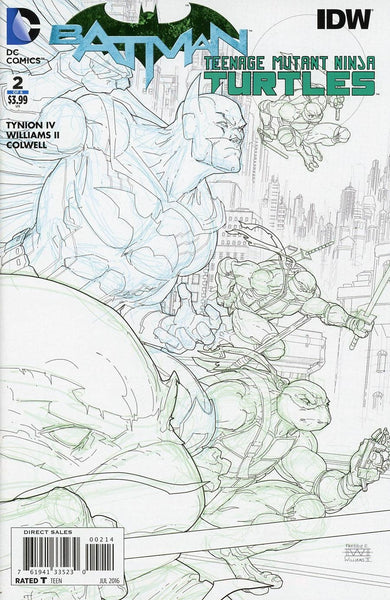 BATMAN TEENAGE MUTANT NINJA TURTLES #2 (OF 6) 4TH