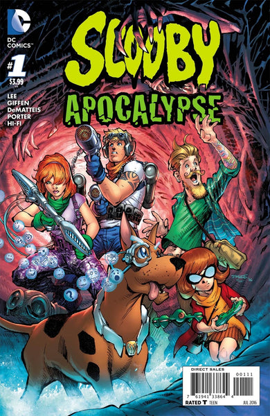 SCOOBY APOCALYPSE #1 1st PRINT JIM LEE COVER