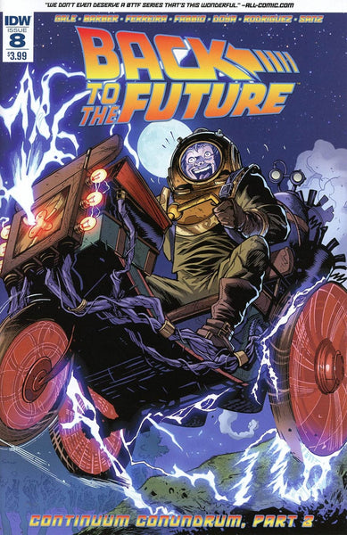 BACK TO THE FUTURE #8 1st PRINT COVER