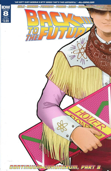BACK TO THE FUTURE #8 SUBSCRIPTION VARIANT