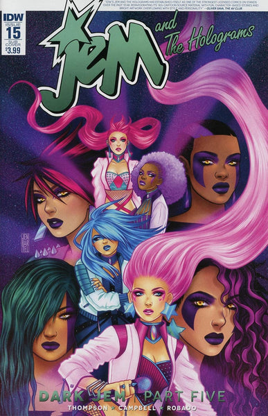 JEM & THE HOLOGRAMS #15 SUBSCRIPTION VARIANT